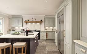 hand built kitchen island