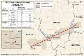 Tri State Tornado of         Kids Encyclopedia   Children     s