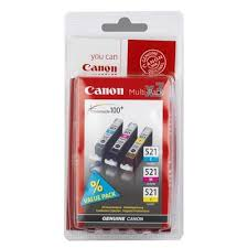 <b>Набор картриджей Canon CLI-521</b> 2934B010 оригинальный ...