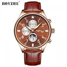 <b>BOYZHE Men</b> Luxury Brand <b>Automatic Mechanical</b> Sports Watches