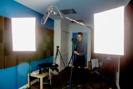 when unbounce moved to a larger office they invested in a studio width of the room wasnt an issue but there had to be sufficient room lengthwise to build office video