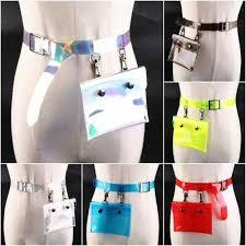 Прозрачный ПВХ телефон кошелек женский талии <b>сумка</b> ...