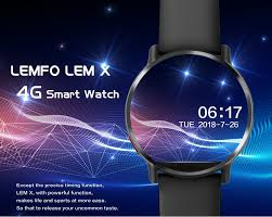 LEMFO LEM X <b>Smart</b> Watch Android 7.1 LTE <b>4G</b> Sim <b>WIFI</b> 2.03 Inch ...