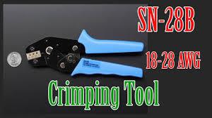 <b>SN</b>-<b>28B</b> Crimping Tool - YouTube