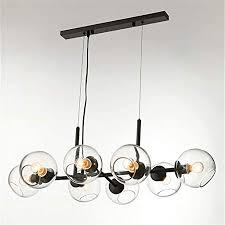 MQW <b>Nordic Loft Glass</b> Ball Pendant Light Creative Sputnik ...
