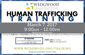 human trafficking training wedgwood