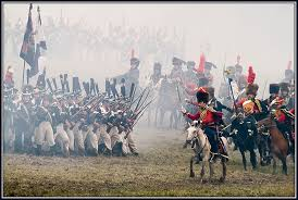 Image result for images of the battle of borodino in the soviet movie war and peace