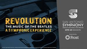 REVOLUTION: The Music of <b>the Beatles. A</b> Symph | Tobin Center for ...