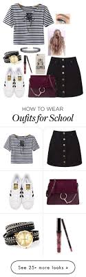 best ideas about high school fashion casual high school by on polyvore featuring miss selfridge adidas originals chicnova fashion lulus kylie cosmetics and chloatildecopy