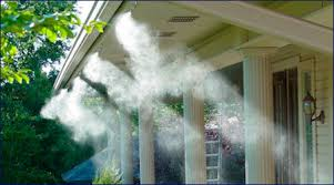 Misting system for mosquito control
