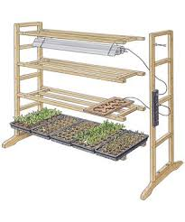 an easy you build it way cheaper multi tiered seed starting rack helps to build easy diy lighting