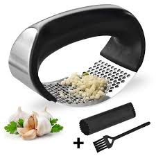 <b>1pcs Stainless</b> Steel <b>Garlic</b> Presses Manual <b>Garlic</b> Mincer Chopping ...