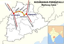Peddapalli–Nizamabad section
