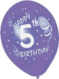Image result for happy 5th birthday