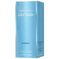 <b>Davidoff Cool Water Woman</b> Eau de Toilette Spray 100ml - Perfume