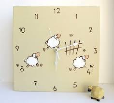 room decor adorable wall clock decoration