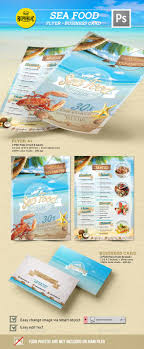 best ideas about advertising flyers photography seafood restaurant 1