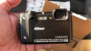фотоаппарат nikon coolpix w300 16mp 5x zoom желтый vqa072e1