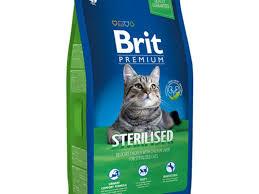 <b>Корм</b> для кошек <b>Brit Premium</b> Cat Sterilised Chicken & Chicken Liver