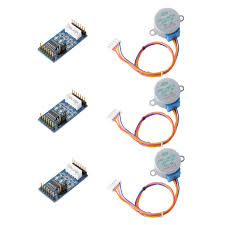 <b>ULN2003</b> Driver Module Board for Arduino TE759 <b>3Pcs</b> 28BYJ-48 ...