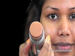 tutorial middot kryolan tv stick foundation application how to heavy makeup not for daily use tune pk