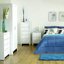 black blue bedroom interior