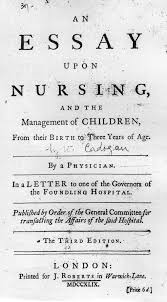 on the web cadogan an essay upon nursing  title page thumbnail