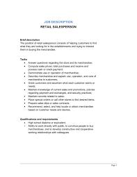 retail salesperson job description   template  amp  sample form    retail salesperson job description