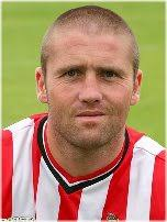Stephen BUSHELL (d.o.b. 28 December 1972, height 5ft 9in, weight 11st 6lbs). A tenacious central midfielder, Steve signed for Alty on 1 July 2006, ... - 06hdsbgr
