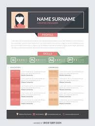 cv graphic templates best resume and letter cv cv graphic templates resume templates from graphicriver graphic designer resume mockup template vector