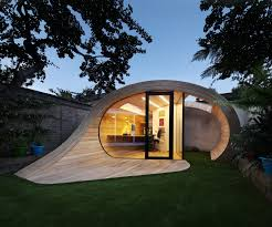 prefabricated office space. prefab garden pavilion with shed and office space prefabricated