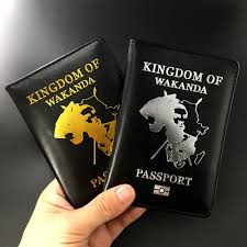 Marvel Wakanda <b>Passport Cover</b> Black Panther Limited Edition ...