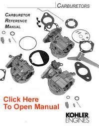 kohler carburetor service parts list kohler engines and kohler kohler carburetor parts list