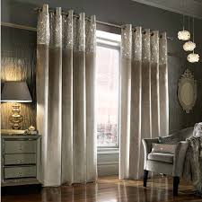 Silver Curtains For Bedroom Esta Lined Eyelet Curtains Silver Curtains Bedroom