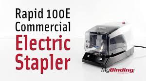 <b>Rapid 100E</b> Commercial Electric Stapler - YouTube