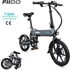 DAPHOME <b>FIIDO D2</b> Ebike,250W 7.8Ah Folding <b>Electric Bicycle</b> ...