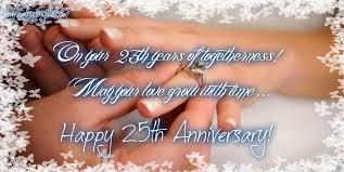 25th Anniversary For Husband Quotes. QuotesGram via Relatably.com