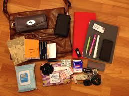 what s in your bag icecjan bag