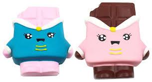 Купить <b>игрушка</b>-<b>антистресс 1Toy</b> Сквиши <b>М</b>-<b>м</b>-<b>мняшка</b> Шоколадка ...