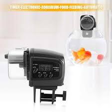 Aquarium Accessories <b>Automatic Fish</b> Feeder Digital <b>LCD Electronic</b> ...