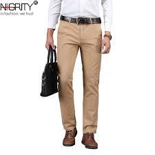 NIGRITY 2019 <b>Men</b> Pants Casual <b>High Quality Classics</b> Fashion ...
