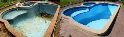 Image result for before after pictures pool renovation
