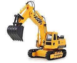<b>Радиоуправляемый экскаватор Double Eagle</b> RC Crane Excavator ...