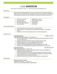 Best Sales Representative Resume Example   LiveCareer LiveCareer