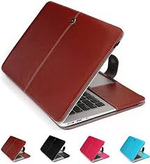 PU <b>Leather Sleeve Case</b> Skin Cover for Apple MacBook/Pro ...
