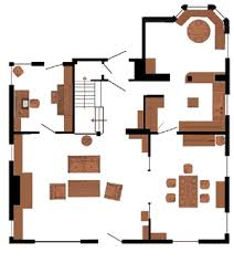 Chase House    The Real House    MSCL com    quot My So Called Life quot  TV    Chase Real House First Floor Plan
