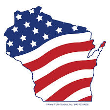 Image result for WISCONSIN FLAG