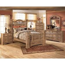 ashley furniture bedroom dressers awesome bed: whimbrel forge poster storage bedroom set