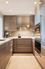 design compact kitchen ideas small layout: u shaped kitchen design ideas small kitchen design modern cabinets recessed lighting