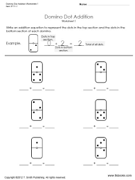 Kindergarten Addition and Subtraction Worksheets | TLSBooksKindergarten Addition Worksheets. thumbnail of one page from the Domino Dot Addition Practice Packet. Subtraction ...